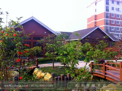 顶楼花园景观绿化