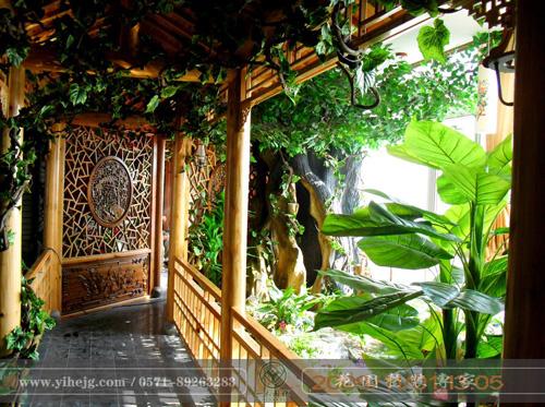 屋顶花园景观绿化