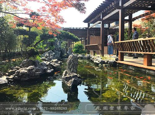 剑强科技屋顶花园景观|私家屋顶花园景观设计|酒店空中花园景观设计