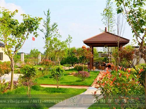 德清乡村庭院景观设计|农村庭院景观绿化|私家庭院规划设计施工