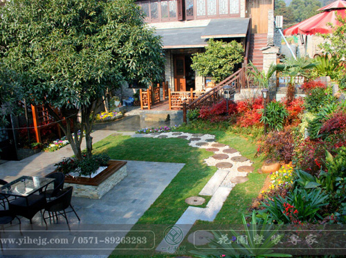 大清谷庭院景观设计|乡村庭院景观绿化|私家庭院花园设计