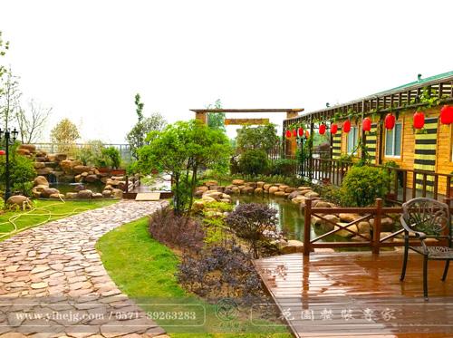 龙山福苑生态农庄景观设计|生态农庄景观规划|生态园农庄花园景观